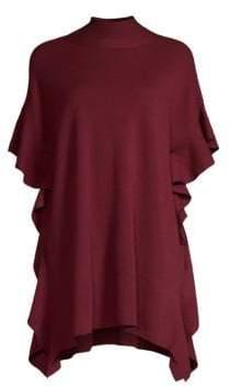 Elie Tahari Lucy Ruffle Sleeve Sweater