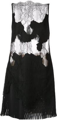 Dion Lee Erosion lace mini dress