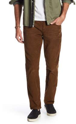 7 For All Mankind Adrien Corduroy Slim Straight Pants