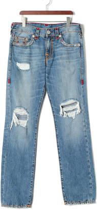 True Religion (トゥルー レリジョン) - True Religion Brand Jeans GENO ダメージウォッシュ スリムフィット デニム デリンクウェント 32