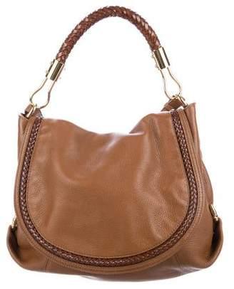410da4a0a88c Michael Kors Skorpios Leather Flap Bag