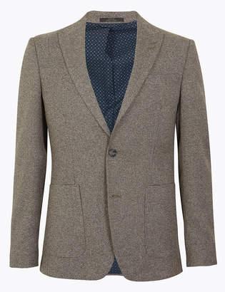 Marks and Spencer Slim Fit Textured Jacket