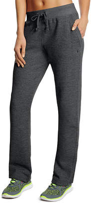 Champion Fleece Open-Bottom Pants