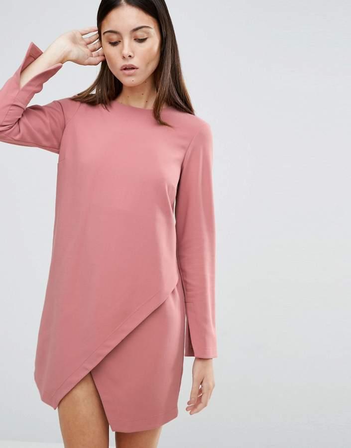 AsosASOS Asymmetric Clean Shift Dress