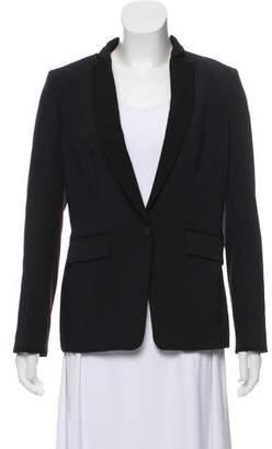 Rag & Bone Stand Collar Structured Blazer