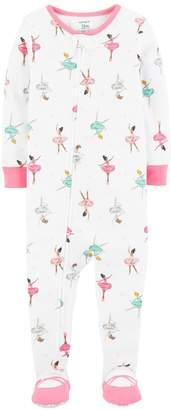 Carter's Baby Girl Ballerina Footed Pajamas