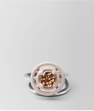 Bottega Veneta Ring In Zirconia And Enamel