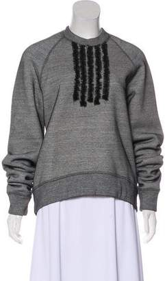 DSQUARED2 Long Sleeve Tulle Sweatshirt w/ Tags