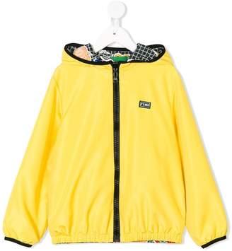 Fendi K-Way reversible jacket