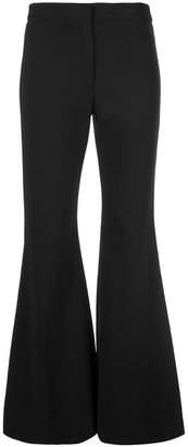 Derek Lam Flare Leg Matte Jersey Trouser