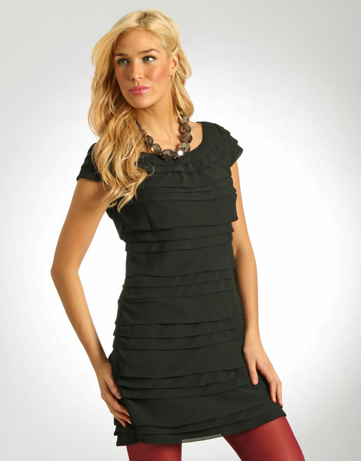 French Connection Party Ruffle Dress