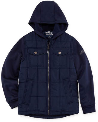 c101a6b789d5 Pacific Trail Boys Hooded Midweight Quilted Jacket-Big Kid