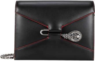 Alexander McQueen Pin Jewel Chain Strap Shoulder Bag