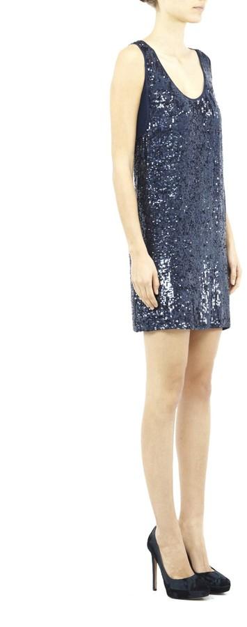 Nicole Miller Orion Sequin Dress
