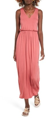Women's Lush Cross Front Maxi Dress $49 thestylecure.com