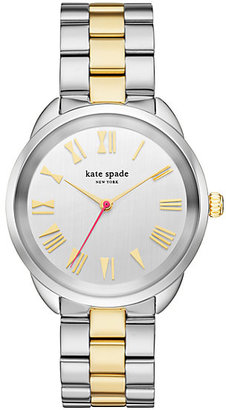 Two-tone gold crosstown watch $250 thestylecure.com