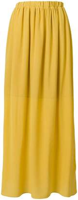 Semi-Couture Semicouture gathered high waisted skirt