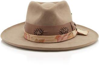 Nick Fouquet Astral Beaver Felt Smoke Hat