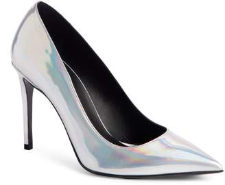 Balmain Daphne Metallic Pointy Toe Pump