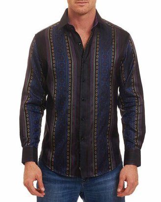 Robert Graham Limited Edition Brute Silk Sport Shirt, Multi $498 thestylecure.com