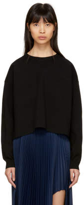 Acne Studios Black Perty Compact Sweater