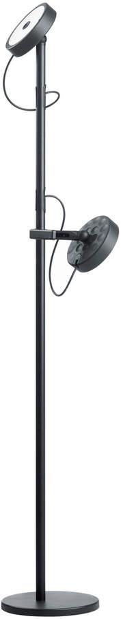 Belux - U-Turn Steh-Leseleuchte, LED Dimmbar, Schwarz