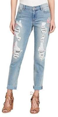Jessica Simpson Mika Best Friend Whiskered Jeans