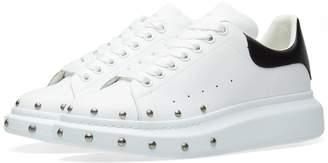 Alexander McQueen Wedge Sole Stud Front Sneaker