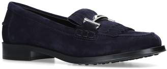 Tod's Leather Ru Loafers