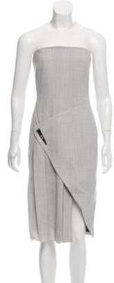 Prabal Gurung Strapless Wool-Blend Dress w/ Tags