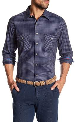 Robert Graham Newcomb Classic Fit Plaid Print Woven Shirt