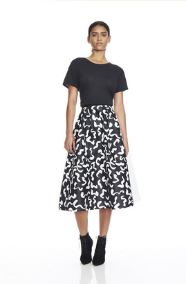 EDIT - Two Tone Midi Skirt $445 thestylecure.com
