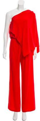 Ramy Brook Silk One-Shoulder Jumpsuit