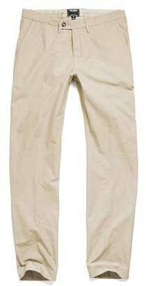 Todd Snyder Hudson Tab Front Chino Pant in Khaki
