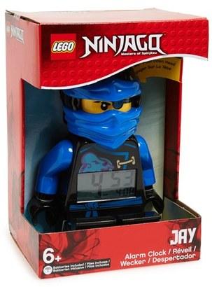 Lego 'Ninjago - Sky Pirates Jay' Alarm Clock $30 thestylecure.com