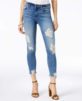 STS Blue Harper Ripped Skinny Jeans $58 thestylecure.com