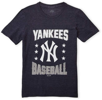 Majestic Boys 8-20) Navy Yankees Tri-Blend Tee