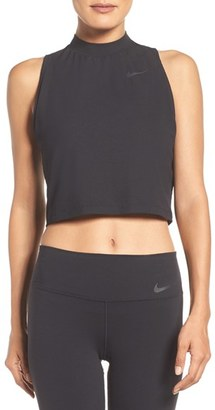Women's Nike Dry Crop Top $40 thestylecure.com