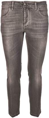 Entre Amis Stone-washed Effect Jeans