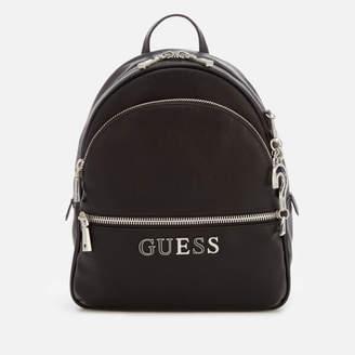 GUESS Women's Manhattan Large Backpack - Black