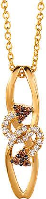LeVian Le Vian 14K 0.11 Ct. Tw. Diamond Necklace