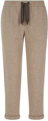Brunello Cucinelli Cotton-Cashmere Sweatpants