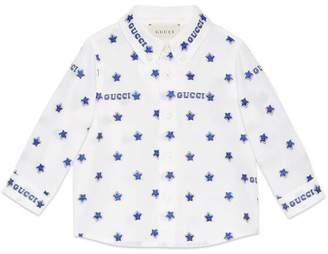 Gucci Baby star fil coupé shirt