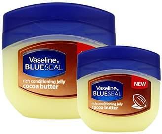Vaseline (6 PACK BlueSeal Gentle Petroleum Jelly (Cocoa Butter)