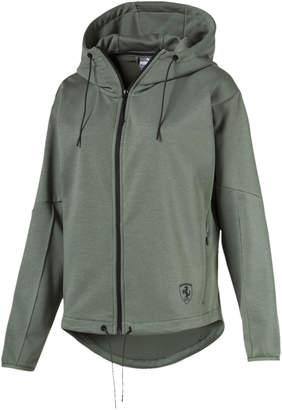 Ferrari Lifestyle Women's Hooded Sweat Jacket