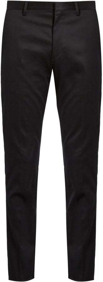 Paul SmithPAUL SMITH Slim-leg tailored cotton-blend chinos