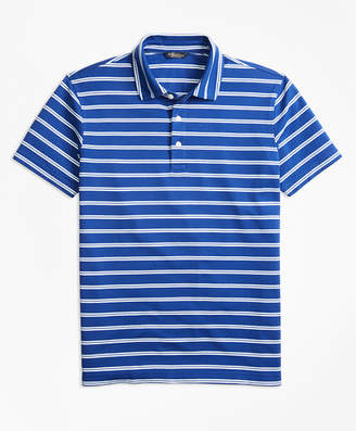 Brooks Brothers Original Fit Supima Cotton Stripe Polo Shirt