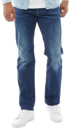 G Star G-STAR Mens Revend Straight Jeans Medium Aged