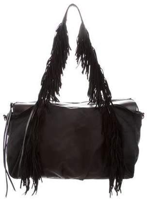 MZ Wallace Fringe-Trimmed Shoulder Bag