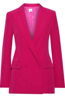 Iris & Ink Luca Double-breasted Cady Blazer